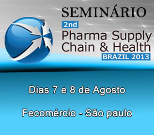 Seminário do Second Pharma Supply Chain & Healh Brazil