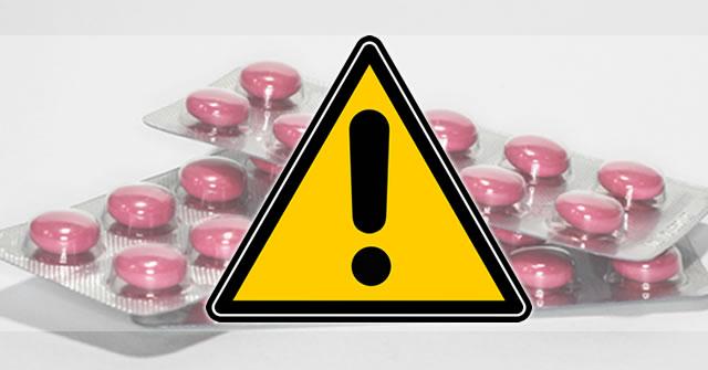 Resultado de imagem para alerta ao medicamentos