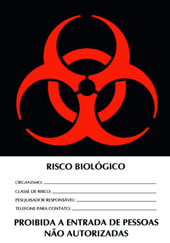 Risco biologico em laboratorio