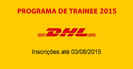 trainee dhl farmacia 2015